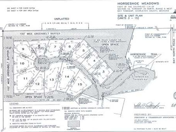 null bed null bath Vacant Land at 13 Buckaroo Trl Petoskey, MI, 49770 is for sale at 18k - google static map