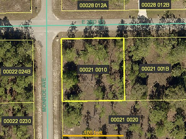 null bed null bath Vacant Land at 122 MONROE AVE LEHIGH ACRES, FL, 33936 is for sale at 5k - google static map