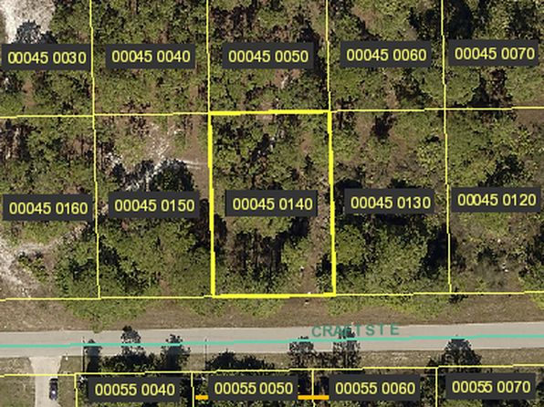 null bed null bath Vacant Land at 1115 CRAFT ST E LEHIGH ACRES, FL, 33974 is for sale at 4k - google static map