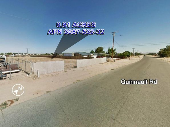 null bed null bath Vacant Land at  Quinnault Rd Apple valley, CA, 92308 is for sale at 115k - 1 of 3
