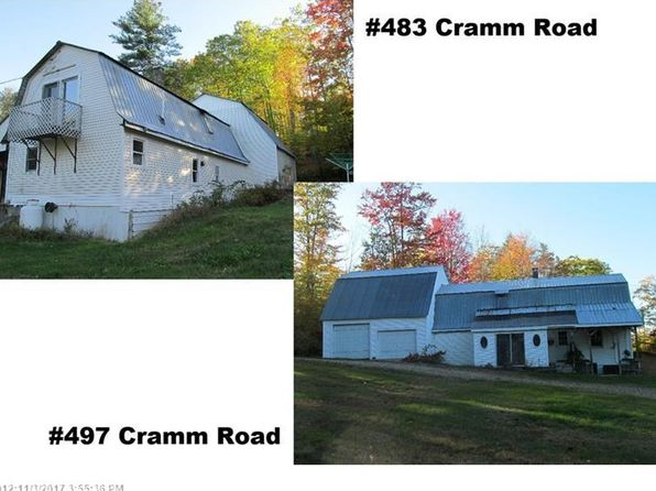 5 bed 3 bath Single Family at 483 & 497 Cramm Rd Parsonsfield, ME, 04047 is for sale at 220k - 1 of 28