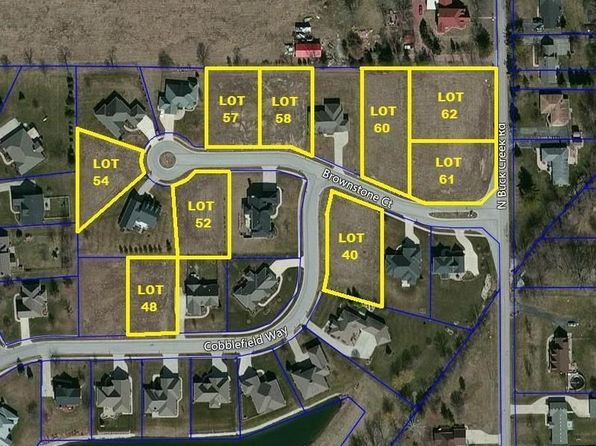 null bed null bath Vacant Land at 7647 Brownstone Ct Greenfield, IN, 46140 is for sale at 39k - google static map
