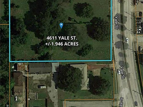 null bed null bath Vacant Land at 4611 Yale St Houston, TX, 77018 is for sale at 2.13m - 1 of 3