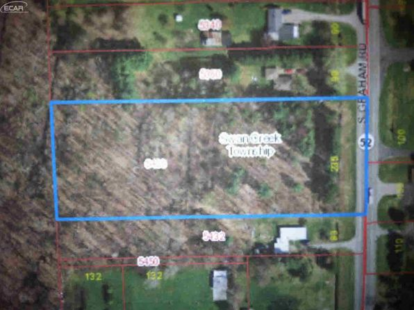 null bed null bath Vacant Land at 5400 S Graham Rd Saint Charles, MI, 48655 is for sale at 36k - 1 of 3