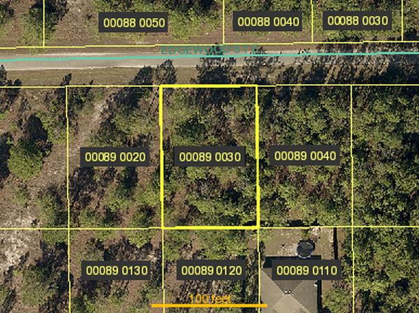 null bed null bath Vacant Land at 1250 EDGEWOOD ST E LEHIGH ACRES, FL, 33974 is for sale at 4k - google static map