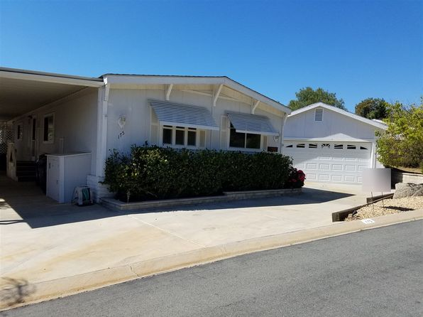 2 bed 2 bath Mobile / Manufactured at 18218 Paradise Mountain Rd Valley Center, CA, 92082 is for sale at 165k - 1 of 14