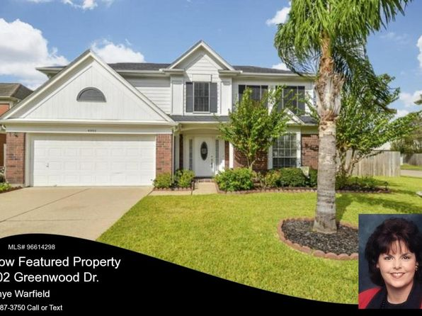 4 bed 3 bath Single Family at 4002 Greenwood Dr Pearland, TX, 77584 is for sale at 225k - 1 of 18