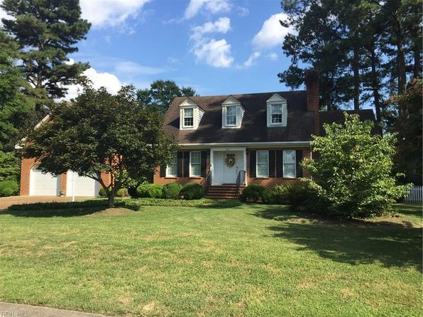 4 bed 3 bath Single Family at 107 Pitchkettle Point Cir Suffolk, VA, 23434 is for sale at 380k - 1 of 28