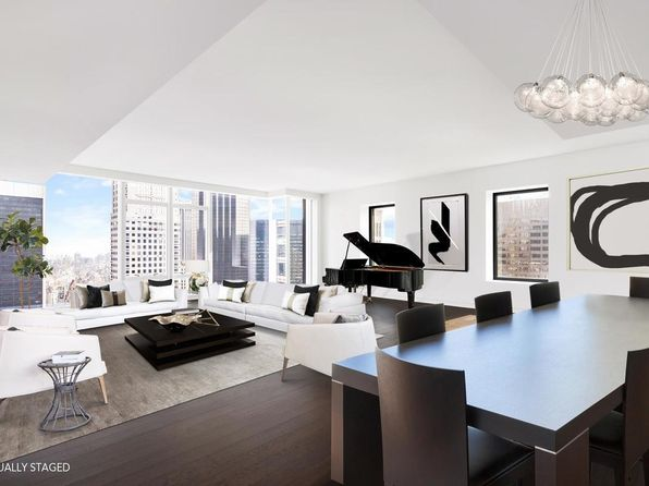 4 bed 5 bath Condo at 20 W 53rd St New York, NY, 10019 is for sale at 21.50m - 1 of 21