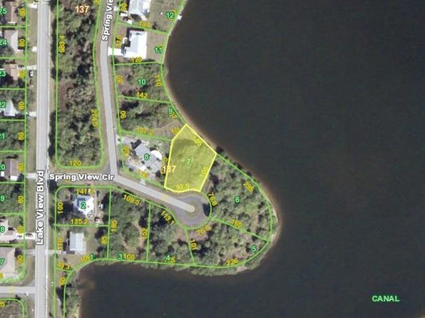 null bed null bath Vacant Land at 249 Springview Cir NW Pt Charlotte, FL, 33948 is for sale at 155k - 1 of 4