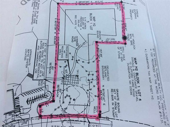 null bed null bath Vacant Land at 1-5 Ray Rd Dunbarton, NH, 03046 is for sale at 95k - google static map