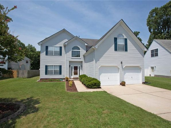 5 bed 3 bath Single Family at 6012 Steeplechase Ln Suffolk, VA, 23435 is for sale at 285k - 1 of 32