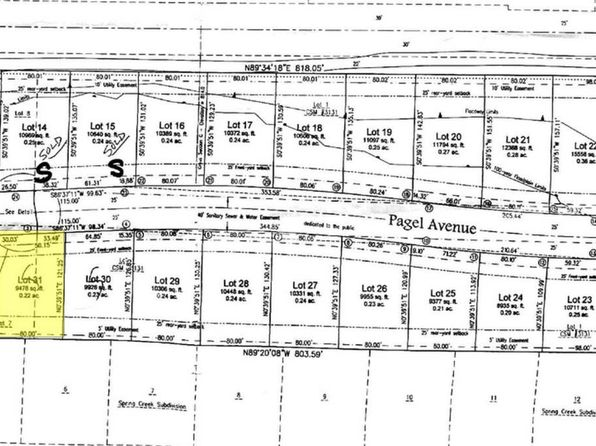 null bed null bath Vacant Land at 411 Pagel Ave Brillion, WI, 54110 is for sale at 28k - google static map