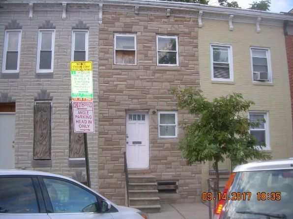 3 bed 1 bath Townhouse at 1166 Carroll St Baltimore, MD, 21230 is for sale at 37k - 1 of 3