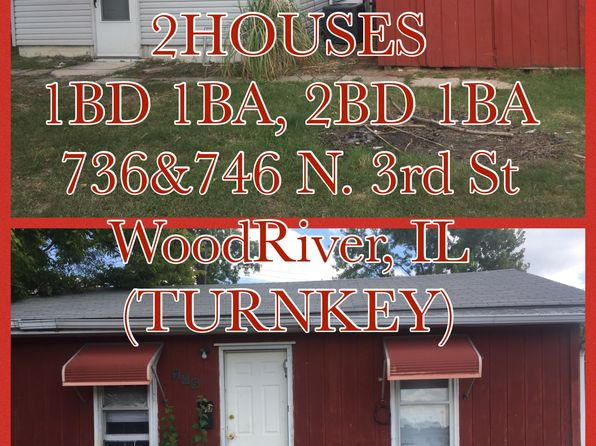 2 bed 1 bath Single Family at 746 N 3rd St Wood River, IL, 62095 is for sale at 70k - 1 of 20