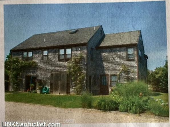 6 bed 4 bath Multi Family at 7 Salros Rd Nantucket, MA, 02554 is for sale at 1.20m - 1 of 2