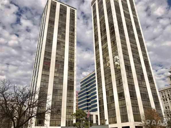 1 bed 2 bath Condo at 125 SW Jefferson Ave Peoria, IL, 61602 is for sale at 185k - 1 of 27