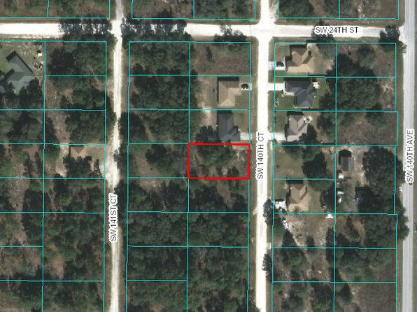 null bed null bath Vacant Land at 2482 SW 140TH CT OCALA, FL, 34481 is for sale at 3k - google static map