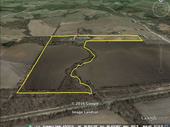 null bed null bath Vacant Land at 1020 K 68 Hwy Pomona, KS, 66076 is for sale at 160k - 1 of 40