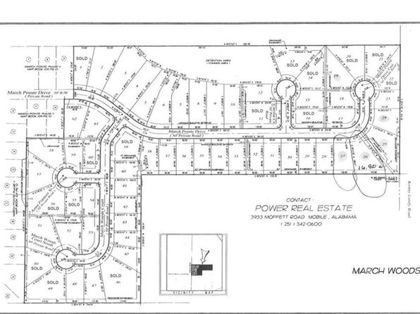 null bed null bath Vacant Land at 0 March Pointe Dr Theodore, AL, 36582 is for sale at 22k - google static map