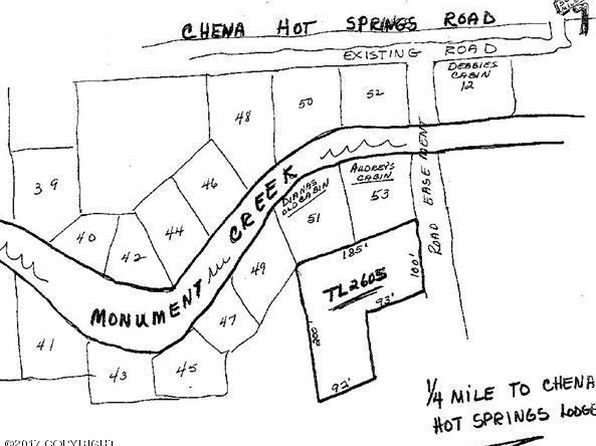 null bed null bath Vacant Land at L 2612 Chena Hot Springs Rd Fairbanks, AK, 99712 is for sale at 7k - google static map