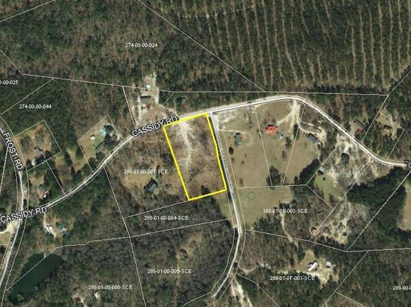 null bed null bath Vacant Land at 1345 CASSIDY RD CAMDEN, SC, 29020 is for sale at 24k - google static map
