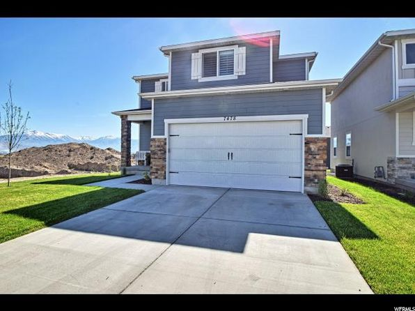 4 bed 2.5 bath Single Family at 7478 N Hutch W Ln Eagle Mountain, UT, 84005 is for sale at 319k - 1 of 25