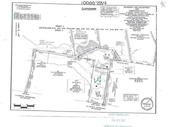 null bed null bath Vacant Land at 8852 Richmond Rd W Toano, VA, 23168 is for sale at 90k - google static map