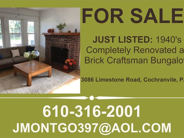 3 bed 1 bath Single Family at 3086 Limestone Rd Cochranville, PA, 19330 is for sale at 160k - 1 of 4