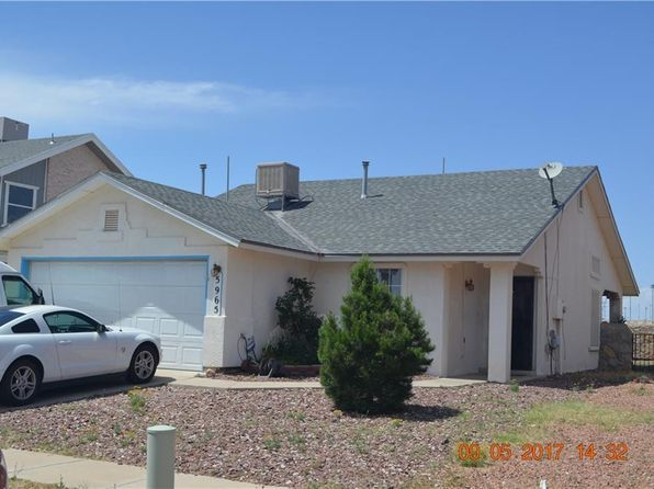 3 bed 2 bath Single Family at 5965 Chippendale Ave El Paso, TX, 79934 is for sale at 95k - 1 of 15
