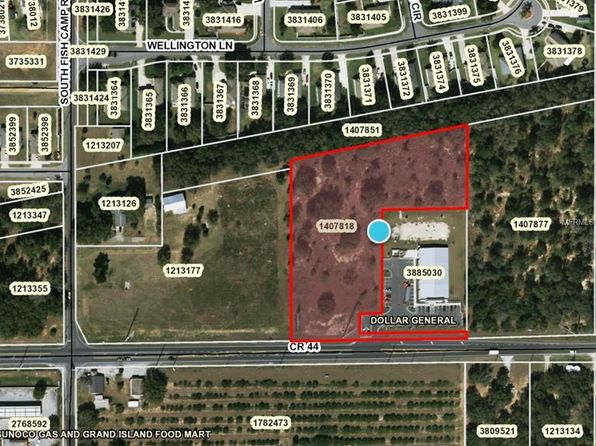 null bed null bath Vacant Land at  County Road 44 Eustis, FL, 32726 is for sale at 249k - 1 of 2