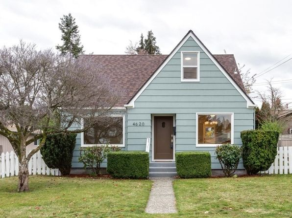 3 bed 1 bath Single Family at 4620 N 27th St Tacoma, WA, 98407 is for sale at 370k - 1 of 19