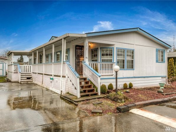 3 bed 2 bath Mobile / Manufactured at 2017 114th Street Ct E Tacoma, WA, 98445 is for sale at 63k - 1 of 20