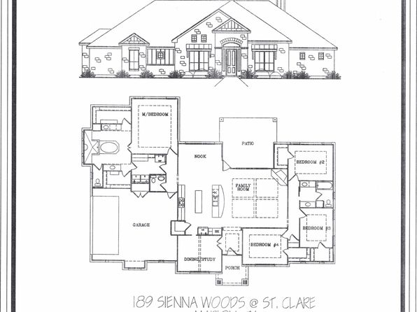 4 bed 3 bath Single Family at 189 Sienna Woods Marion, TX, 78124 is for sale at 399k - google static map