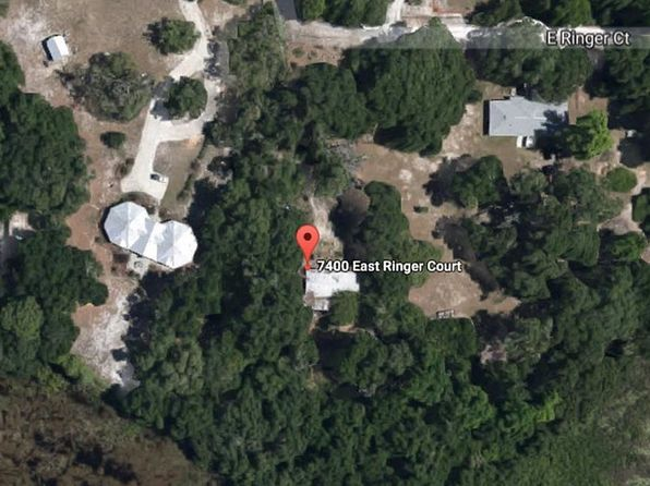 2 bed 2 bath Mobile / Manufactured at 7400 E Ringer Ct Inverness, FL, 34453 is for sale at 19k - google static map
