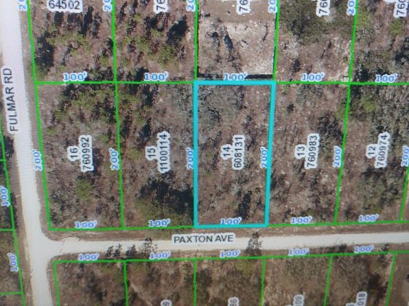 null bed null bath Vacant Land at  Paxton Ave Brooksville, FL, 34614 is for sale at 8k - google static map