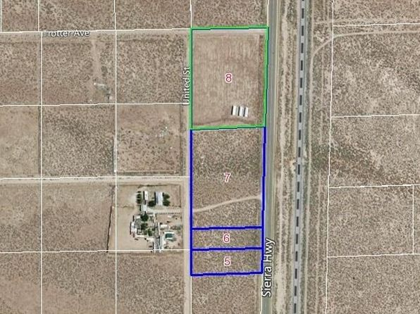 null bed null bath Vacant Land at 1 Sierra Hwy & Trotter Ave Mojave, CA, 93501 is for sale at 100k - 1 of 7