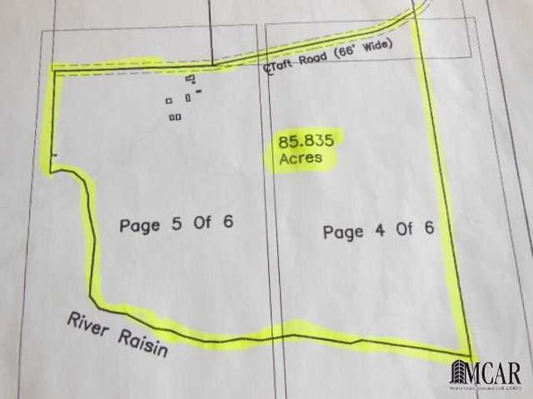 null bed null bath Vacant Land at 20269 Taft Rd Petersburg, MI, 49270 is for sale at 416k - 1 of 12