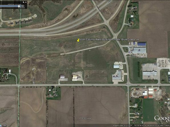 null bed null bath Vacant Land at  Industrial Dr Blue Grass, IA, 52726 is for sale at 69k - 1 of 9