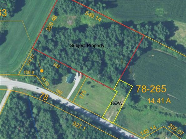null bed null bath Vacant Land at  Route 78 Rte Highgate, VT, 05459 is for sale at 6k - 1 of 4