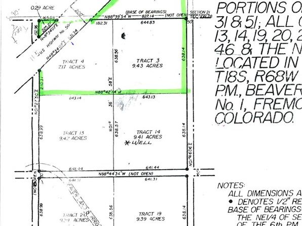 null bed null bath Vacant Land at  Tbd Hwy Penrose, CO, 81240 is for sale at 58k - google static map
