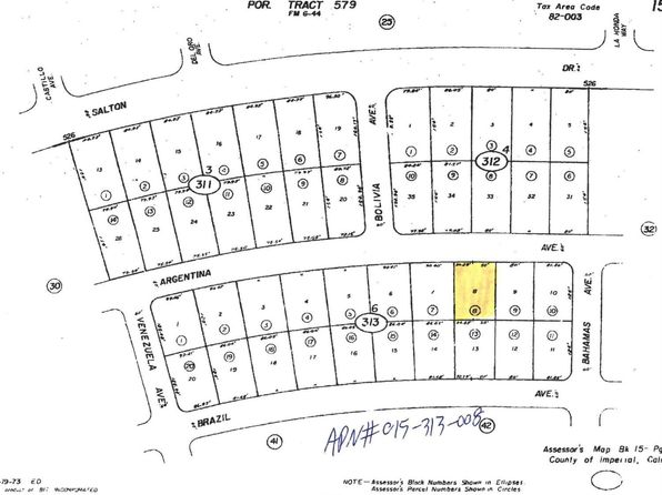 null bed null bath Vacant Land at 997 ARGENTINA AVE THERMAL, CA, 92274 is for sale at 3k - google static map