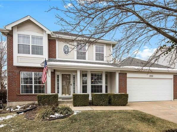4 bed 4 bath Single Family at 223 CHEVAL SQUARE DR CHESTERFIELD, MO, 63005 is for sale at 420k - 1 of 29