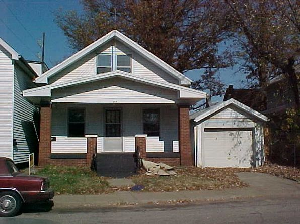 3 bed 1 bath Single Family at 309 W Illinois St Evansville, IN, 47710 is for sale at 78k - google static map