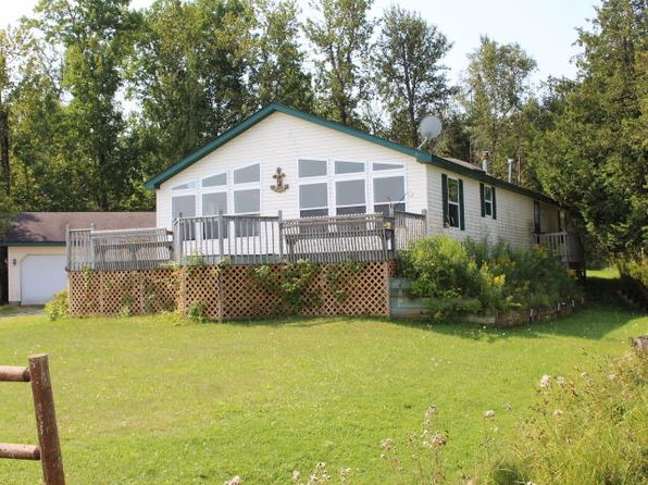 3 bed 2 bath Single Family at 14480 E Lime Island Rd Goetzville, MI, 49736 is for sale at 100k - 1 of 34