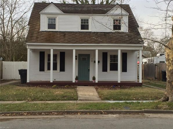 4 bed 3 bath Single Family at 39 Decatur St Portsmouth, VA, 23702 is for sale at 159k - 1 of 29