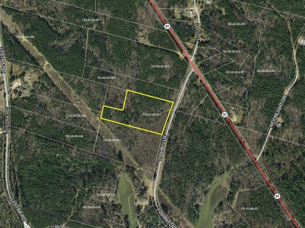 null bed null bath Vacant Land at 2175 FISHING LN CAMDEN, SC, 29020 is for sale at 17k - google static map