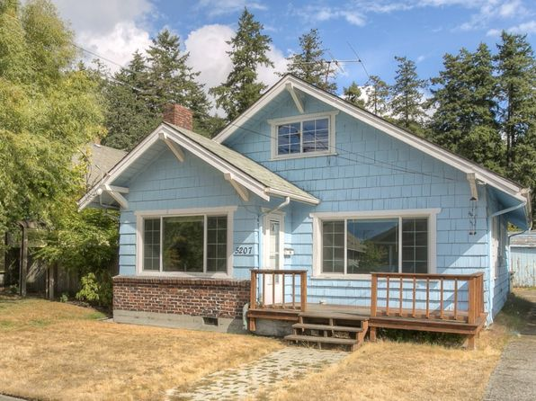 2 bed 1 bath Single Family at 5207 S Warner St Tacoma, WA, 98409 is for sale at 185k - 1 of 13