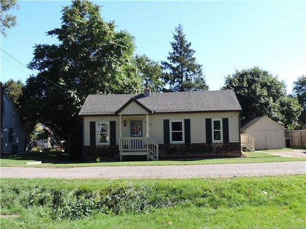 2 bed 1 bath Single Family at 3885 Pleasant St Dryden, MI, 48428 is for sale at 88k - 1 of 16