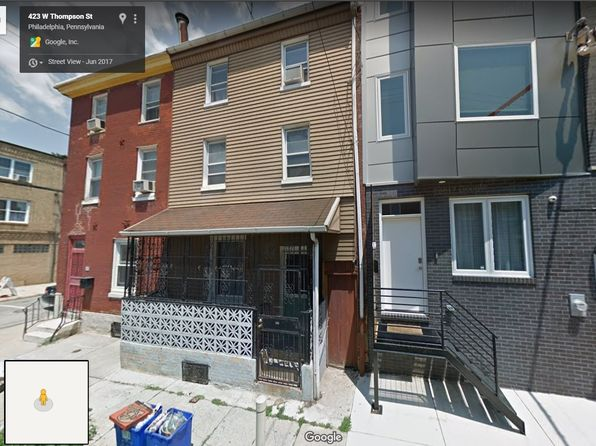 4 bed 1 bath Townhouse at 425 W Thompson St Philadelphia, PA, 19122 is for sale at 190k - 1 of 8